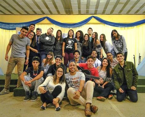 Grupo de jovens 2015