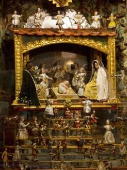 Presépio guardado há 300 anos é exposto no Equador