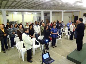 Padre Renato Gonçalves realiza formação litúrgica no SCJ