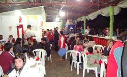 Agradecimento a todos(as) voluntários(as) que se dedicaram na festa de São Benedito