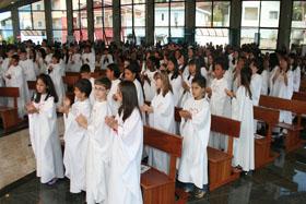 Dia 24 de Junho celebração de 1ª Eucaristia no SCJ