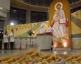 Paróquia SCJ reunida celebrou o dia de santo Antônio de Pádua