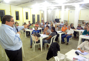 Fiéis e lideranças da Paróquia SCJ se reúnem para o Planejamento Pastoral