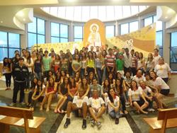 Aconteceu no SCJ 1º Encontro com os jovens da Crisma de 2013