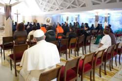 Papa Francisco: surpresa do encontro com Cristo gera paz verdadeira