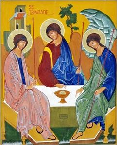 """Domingo da Santíssima Trindade 26 de maio 2013 """"O Deus de Jesus"""""""