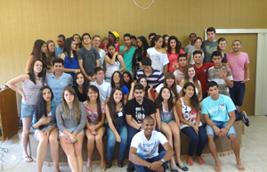 Grupo de Jovens Coração Sagrado realizou retiro para juventude