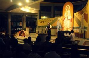 Concerto especial de voz e piano marcam o Natal na paróquia SCJ