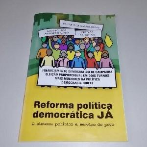 CNBB disponibiliza cartilha sobre projeto de reforma política