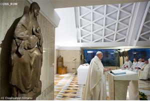 Papa: Deus procura-se. Cristãos sentados não conhecem o rosto de Deus