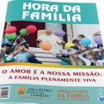 """""""O amor é nossa missão"""" é tema da Semana Nacional da Família"""