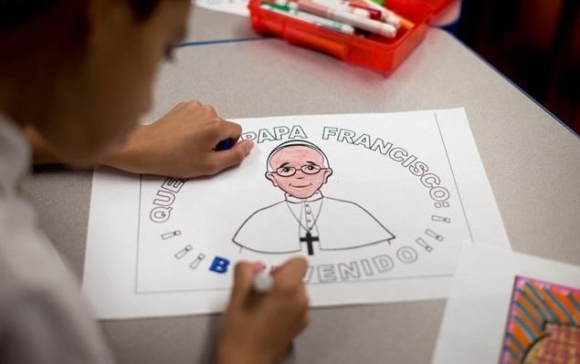 Livro do Papa para crianças será publicado em 2016