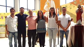 Batismo e Primeira Eucaristia de adultos são celebrados no SCJ