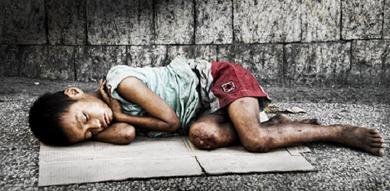 Menores abandonados: alguém os abandonou