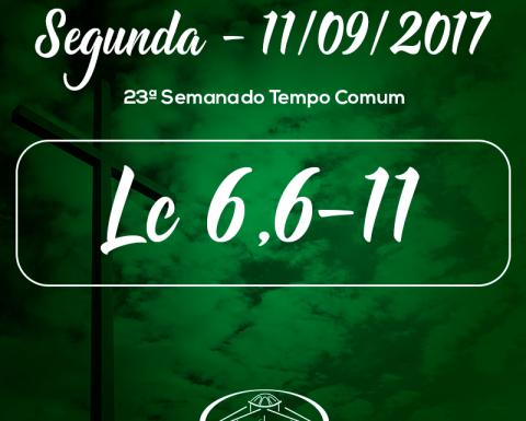 23ª Semana do Tempo Comum- 11/09/2017 (Lc 6,6-11)