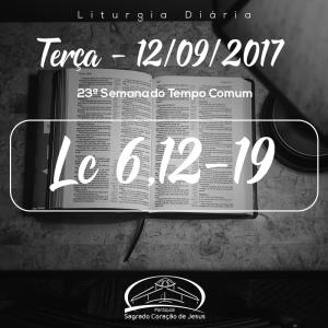 23ª Semana do Tempo Comum- 12/09/2017 (Lc 6,12-19)