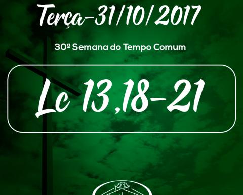 30ª Semana do Tempo Comum- 31/10/2017 (Lc 13,18-21)