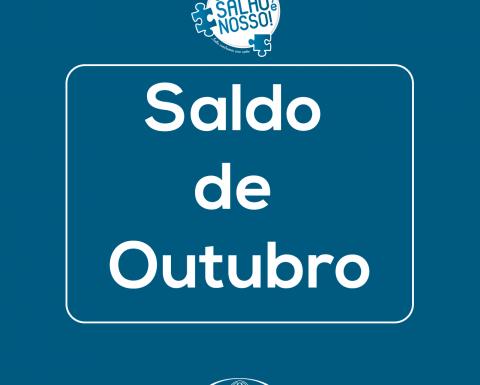 """Saldo de outubro da campanha """"O Salão é nosso!"""""""