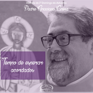 Tempo de esperar acordados- Homilia do 1º domingo do Advento