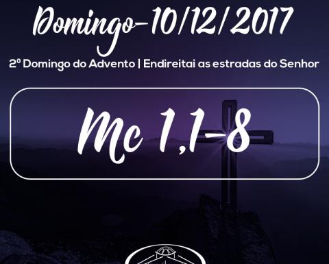 2º Domingo do Advento- 10/12/2017 (Mc 1,1-8)
