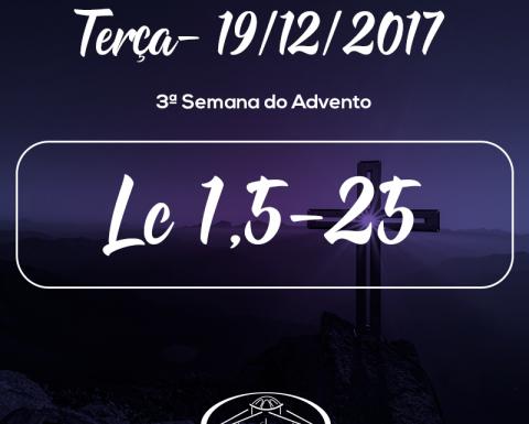 3ª Semana do Advento- 18/12/2017 (Lc 1,5-25)