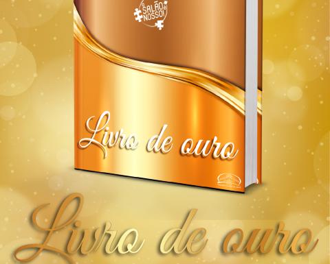 """Livro de ouro da campanha """"O Salão é nosso!"""""""