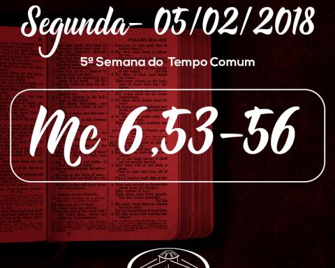 5ª Semana do Tempo Comum- 05/02/2018 (Mc 6,53-56)