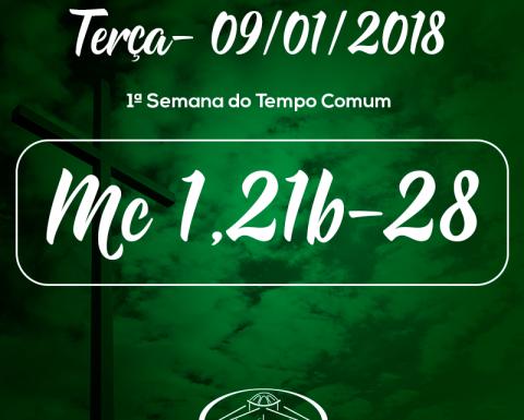 1ª Semana do Tempo Comum- 09/01/2018 (Mc 1,21b-28)