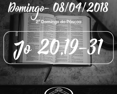 2º Domingo da Páscoa- 08/04/2018 (Jo 20,19-31)
