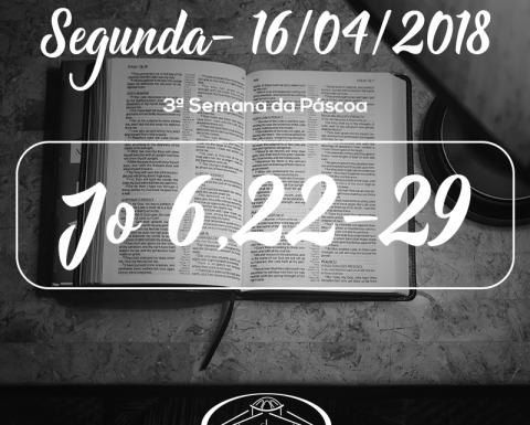 3ª Semana da Páscoa- 16/04/2018 (Jo 6,22-29)