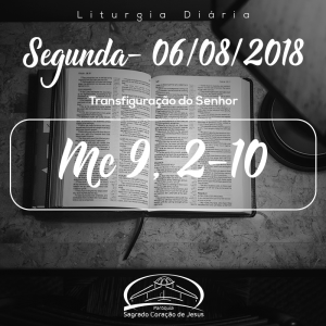 Transfiguração do Senhor- 06/08/2018 (Mc 9,2-10)