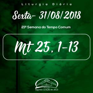 21ª Semana do Tempo Comum- (Mt 25,1-13)