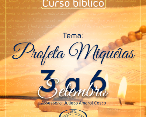 Inscrição para curso bíblico 2018