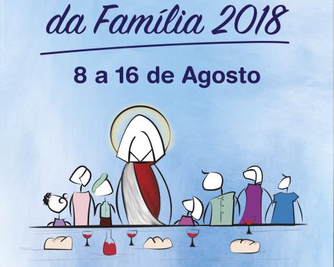 Programação oficial Semana da Família 2018 | Paróquia Sagrado Coração de Jesus