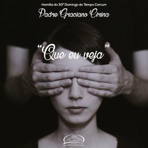 """""""Que eu veja""""- homilia do 30º domingo do tempo comum- Pe Graciano"""