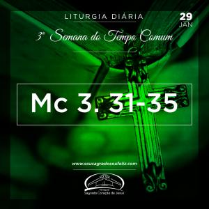3ª Semana do Tempo Comum- 29/02/2019 (Mc 3,31-35)
