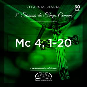 3ª Semana do Tempo Comum- 30/01/2019 (Mc 4,1-20)