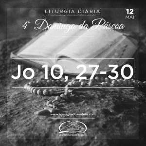 4º Domingo da Páscoa- 12/05/2019 (Jo 10,27-30)