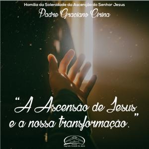 """""""A Ascensão de Jesus e a nossa transformação""""- Homilia da Solenidade da Ascensão de Jesus- Pe Graciano"""