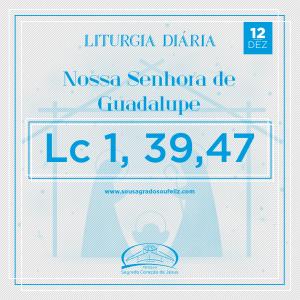 Nossa Senhora de Guadalupe- quinta-feira 12/12/2019 (Lc 1,39-47)