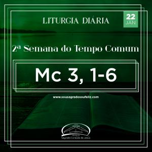 2ª Semana do Tempo Comum - Quarta-feira 21/01/2020 (Mc 3,1-6)