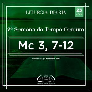 2ª Semana do Tempo Comum - Quinta-feira- 23/01/2020 (Mc 3,7-12)
