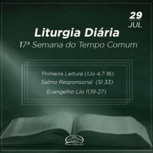 Liturgia Diária - 29/07/2021