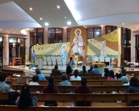 Dia 09 de setembro aconteceu a primeira reunião do CPP com o novo pároco Padre Reinaldo