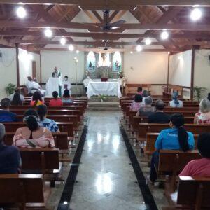 Retorno das Celebrações presenciais na comunidade São José