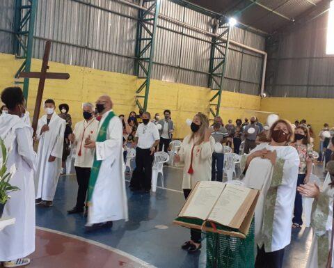 Comunidade São José acolhe Padre Reinaldo Marques Resende