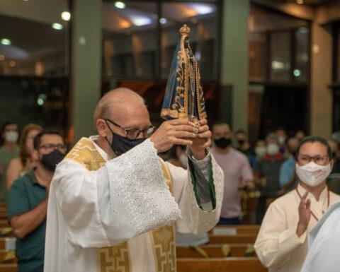 Paróquia Sagrado Coração de Jesus acolhe seu novo Pároco Padre Reinaldo Marques de Resende